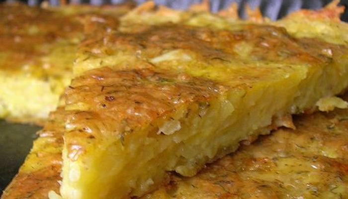 Картофельная запеканка с сыром и беконом в духовке рецепт с пошагово